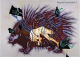 Frozen Footnotes-1 - Jitish  Kallat - Spring Auction 2006