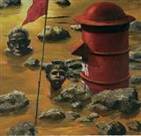 Flood Dear Flood - Bikash  Bhattacharjee - Summer Auction 2007