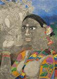 Untitled - K Laxma  Goud - Summer Auction 2007