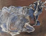 The Goat - Paritosh  Sen - Summer Auction 2007
