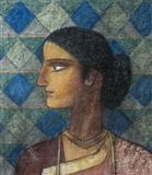 Untitled - Ganesh  Pyne - Summer Auction 2007