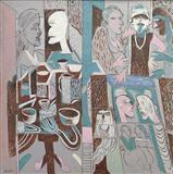 Studio - K G Subramanyan - Winter Auction 2007