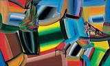 Stretched Bodies - 2 - Bose  Krishnamachari - Autumn Auction 2008