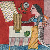 Still-life with Winged Mermaid - Badri  Narayan - Summer Auction 2008