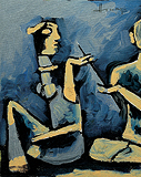 Untitled - M F Husain - Summer Auction 2008