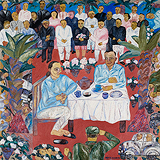 Couple Having Tea - Arpita  Singh - Winter Auction 2008