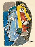 Untitled - M F Husain - Winter Auction 2008