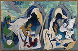 Untitled - M F Husain - Autumn Auction 2009