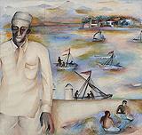 Untitled - Bhupen  Khakhar - Summer Auction 2009