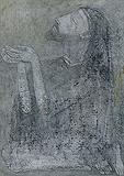 Untitled - Ganesh  Pyne - Summer Auction 2009