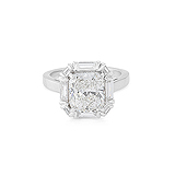 AN IMPORTANT DIAMOND RING -    - Auction of Fine Jewels & Watches