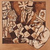 Untitled - M F Husain - Summer Auction 2010