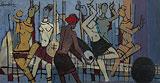 Untitled - M F Husain - Summer Auction 2010