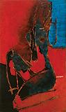 Untitled (Maya V) - M F Husain - Summer Auction 2010