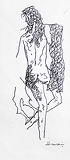 Untitled - M F Husain - Words and Lines: 24-Hour Auction