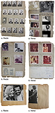 A Set of Three Pages from F.N. Souza's Scrapbook -    - Words and Lines: 24-Hour Auction