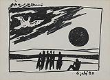 Untitled - M F Husain - Autumn Auction 2011