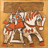 Untitled - M F Husain - Autumn Auction 2011