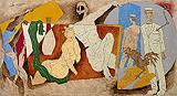 Civilisation - M F Husain - Autumn Auction 2011