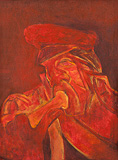 Untitled - Krishen  Khanna - Autumn Auction 2011