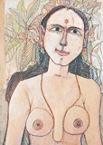 Untitled - K Laxma  Goud - Autumn Auction 2011