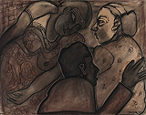 Untitled - Jogen  Chowdhury - 99 Modern Paperworks
