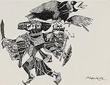 Untitled - K Laxma  Goud - 99 Modern Paperworks