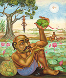 Frog Catchers of Udiyankulangara - Gopikrishna   - 24-Hour Absolute Auction of Contemporary Art