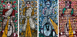 Old Heroines - A. Rajeshwara Rao - 24-Hour Absolute Auction of Contemporary Art