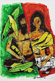 Untitled - M F Husain - Spring Auction 2011