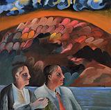 Twins - Bhupen  Khakhar - Summer Art Auction