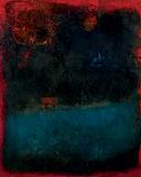 Bleu d'ete - S H Raza - Summer Art Auction