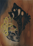 Algae Shiva (Shiva by the Sea) - Anju  Dodiya - 24-Hour Contemporary Auction