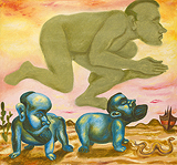 Innocents and Apparition of a Running Man - Gopikrishna   - 24-Hour Contemporary Auction