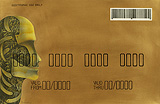 Anthropomorphic Credit Card (Gold) - Phaneendra Nath Chaturvedi - 24-Hour Contemporary Auction