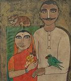 Untitled - Badri  Narayan - Winter Online Auction