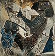 M F Husain - Winter Online Auction