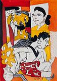 Untitled - K G Subramanyan - Winter Online Auction