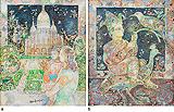 a) Sacre-Coeur b) Happy as a Bird - Sakti  Burman - Winter Online Auction