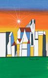 Cityscape - F N Souza - Winter Online Auction