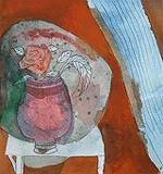 The Flower Vase - Badri  Narayan - 24-Hour Online Absolute Auction