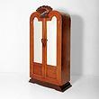 A DOUBLE DOOR WARDROBE - 24-Hour Online Auction: Art Deco
