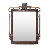 A MIRROR FRAME -    - 24-Hour Online Auction: Art Deco