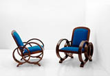 A PAIR OF OCCASIONAL CHAIRS -    - 24-Hour Online Auction: Art Deco