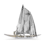 A SAILBOAT -    - 24-Hour Online Auction: Art Deco