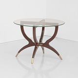 A SIDE TABLE -    - 24-Hour Online Auction: Art Deco