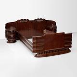 A DOUBLE BED -    - 24-Hour Online Auction: Art Deco