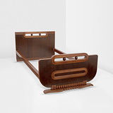 A SINGLE BED -    - 24-Hour Online Auction: Art Deco