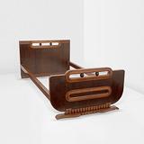 A SINGLE BED -    - 24-Hour Online Auction: Art Deco