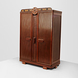 A LARGE WARDROBE -    - 24-Hour Online Auction: Art Deco
